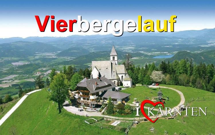 Vierbergelauf in Kärnten Termin