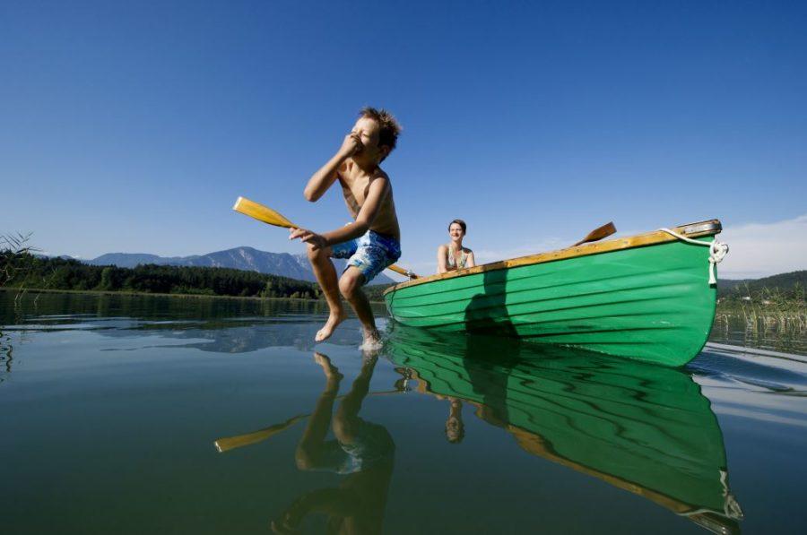 Daniel ZUPANC Kaernten Werbung Turnersee - Urlaub am See in Kärnten