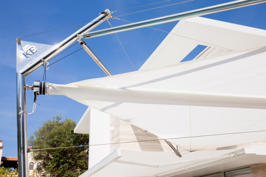 KE CapdAntibes 13 Kolibrie dettaglio - Sonnenschutzsegel & Sonnenschutzsysteme NEWS
