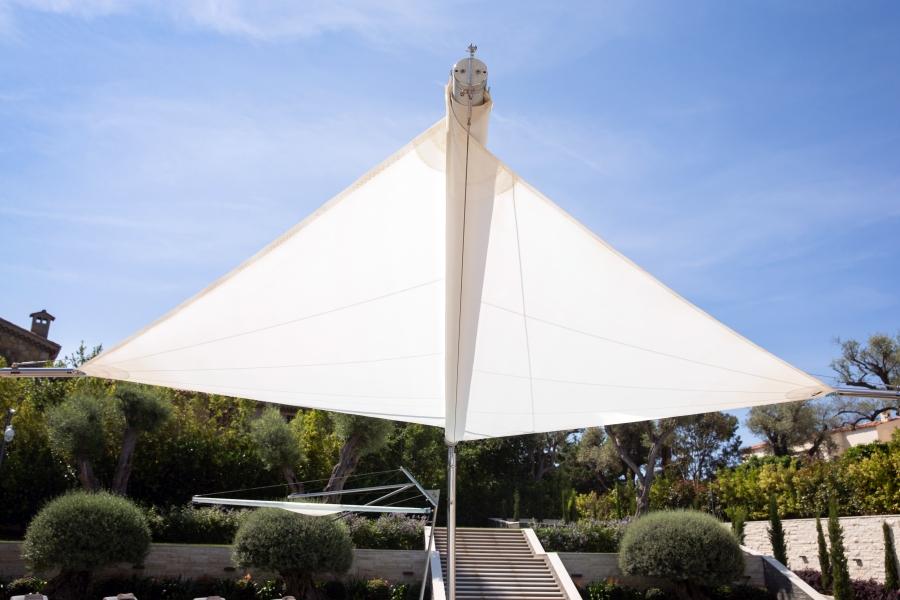 KE CapdAntibes 16 Kolibrie aperto - Sonnenschutzsegel & Sonnenschutzsysteme NEWS
