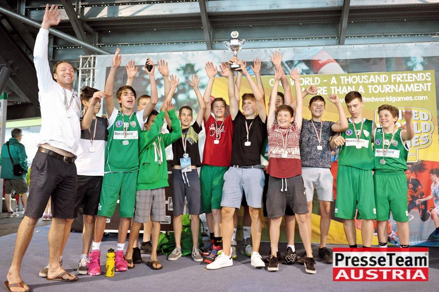 """U14 KOŠ Klagenfurt 40 - 2. Platz für die U14 Mannschaft KOŠ """"United World Games"""""""