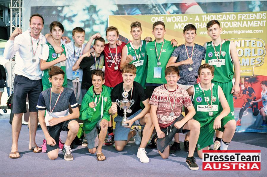 """U14 KOŠ Klagenfurt 42 - 2. Platz für die U14 Mannschaft KOŠ """"United World Games"""""""