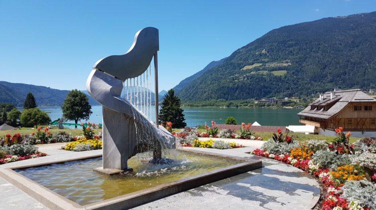 Stift Ossiach Harfe