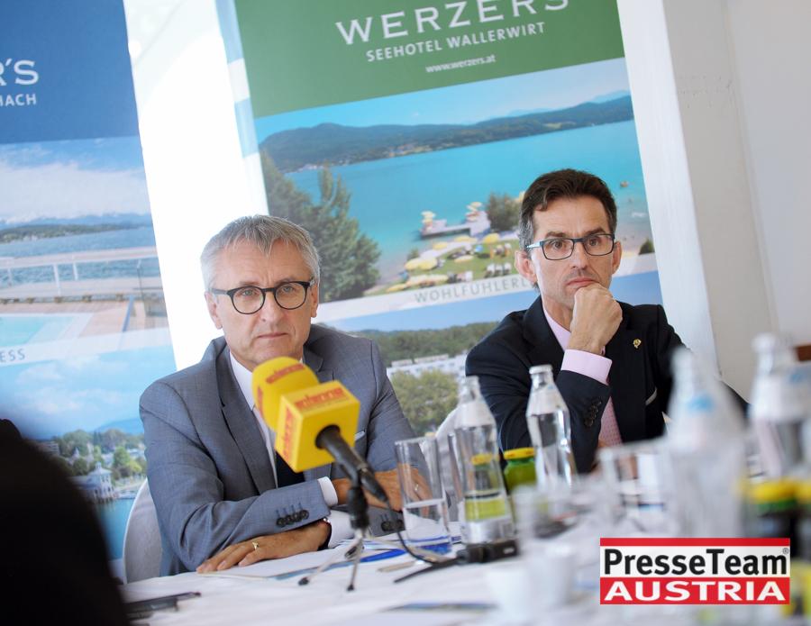 Hoteldirektor Erwin Putzenbacher-Klinser
