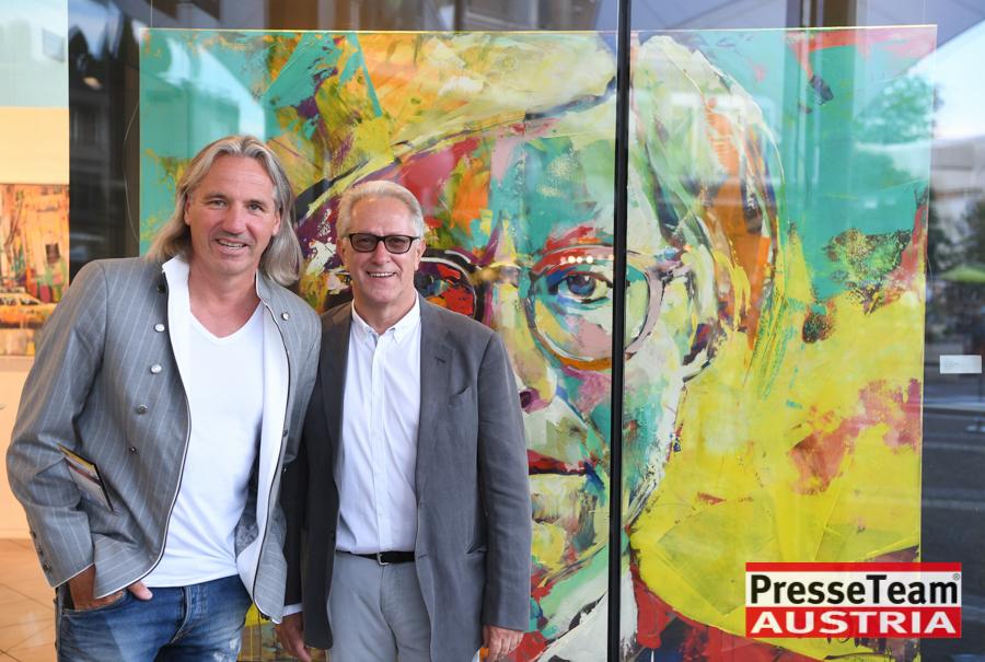 Künstler Voka Maler 2 - VOKA Vernissage in Velden am Wörthersee