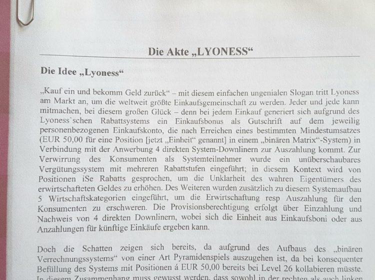 Lyoness Geschädigte