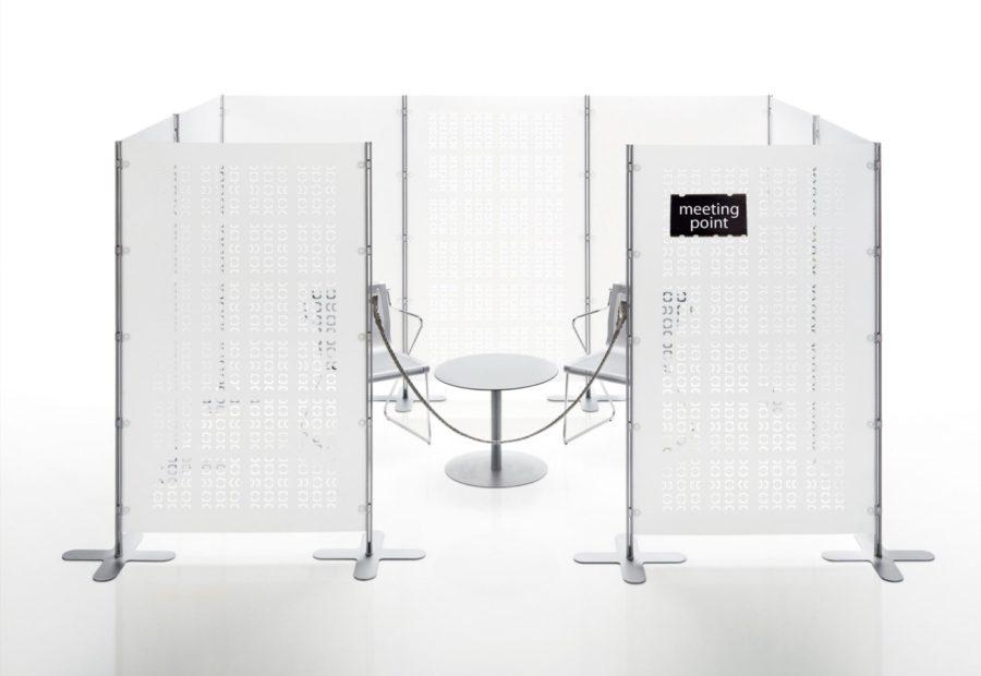 Meeting Sichtschutz und Messemöbel - Abschirmung Besprechungszimmer