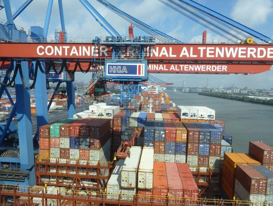 Containerschiffe China Österreich Austria