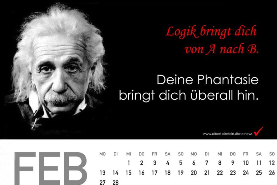 geschenkidee albert einstein kalender presseteam austria. Black Bedroom Furniture Sets. Home Design Ideas