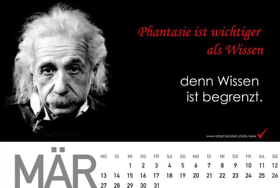 Geschenkidee: Albert Einstein Kalender - Presseteam Austria