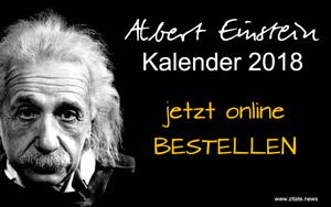 Einstein Kalender 2018