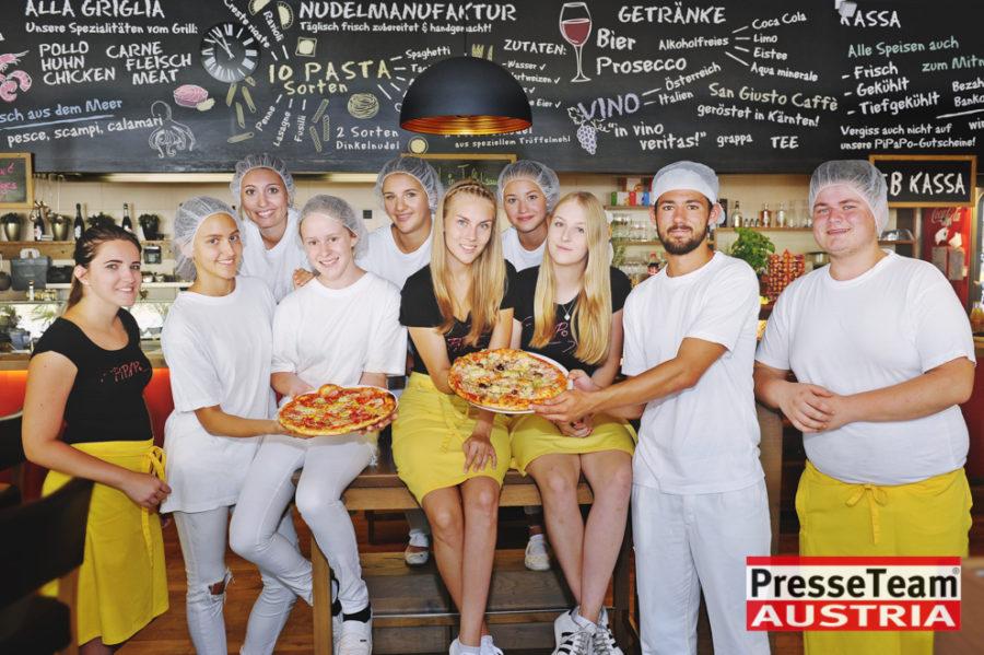 Fertige Pizza für die Gastronomie