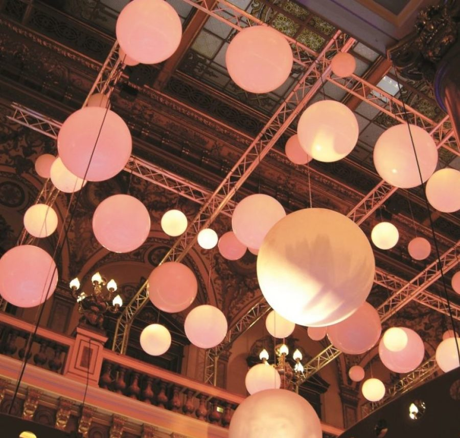 hallenbeleuchtung runde weisse lampen - Kugellampe Leuchtkugel Pendelleuchten