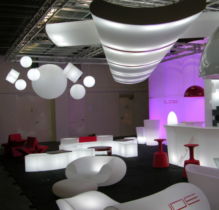 loungemoebel beleuchtet - Kugellampe Leuchtkugel Pendelleuchten