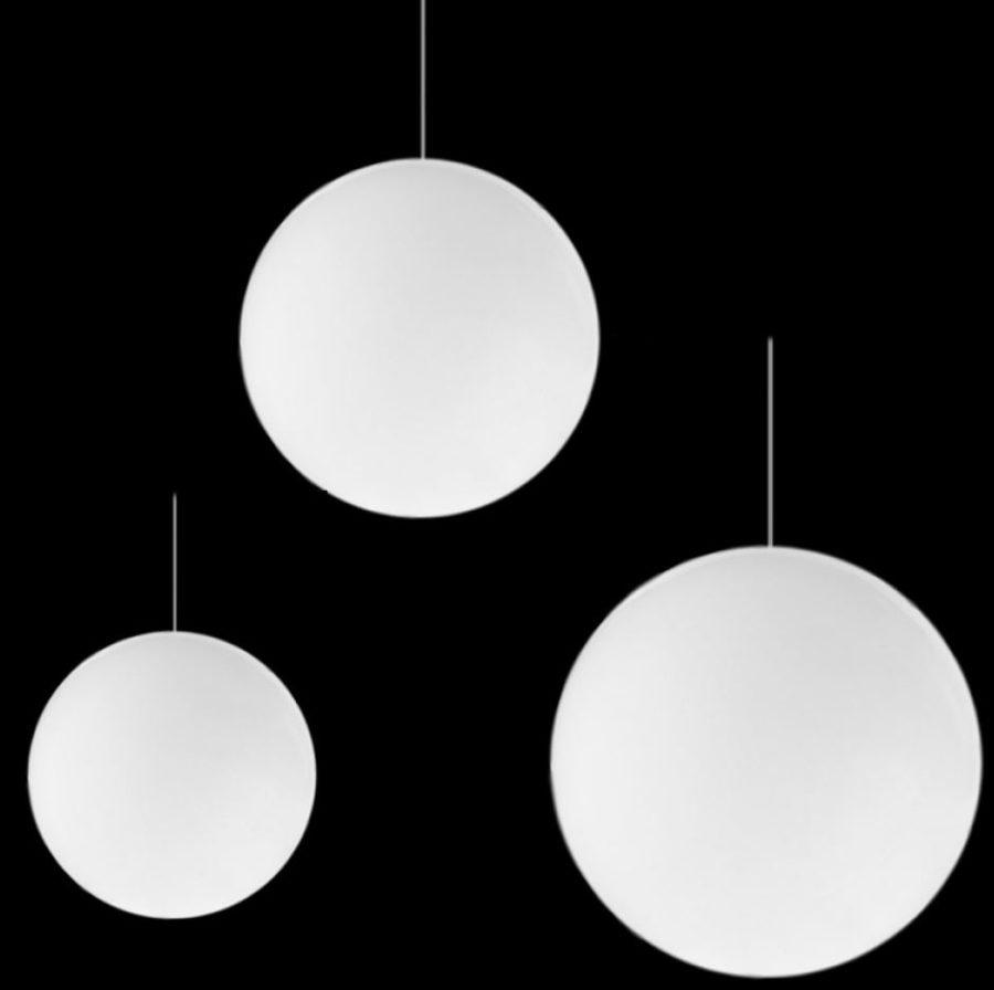 runde weisse pendelleuchten - Kugellampe Leuchtkugel Pendelleuchten
