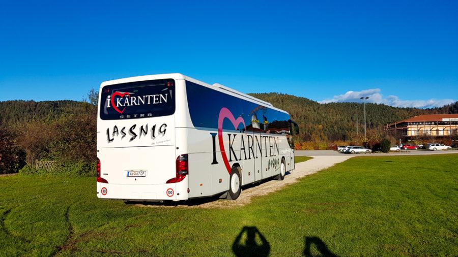 Bus für Betriebsausflug
