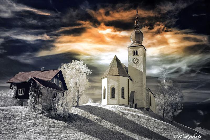 Kirche in Lehndorf Oberkärnten