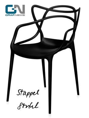 Stappelsessel Stappelstuhl für Innen und Aussen - Kartell Masters von Graf News