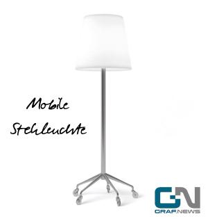 Mobile Stehleuchte Slide Roller von Graf News Graf Licht