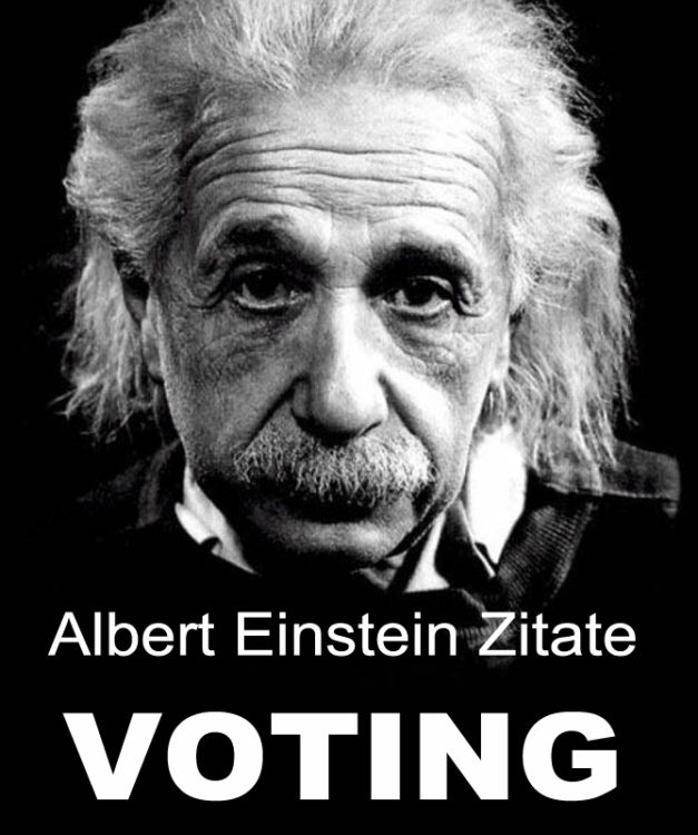 Voting Der  Besten Albert Einstein Zitate