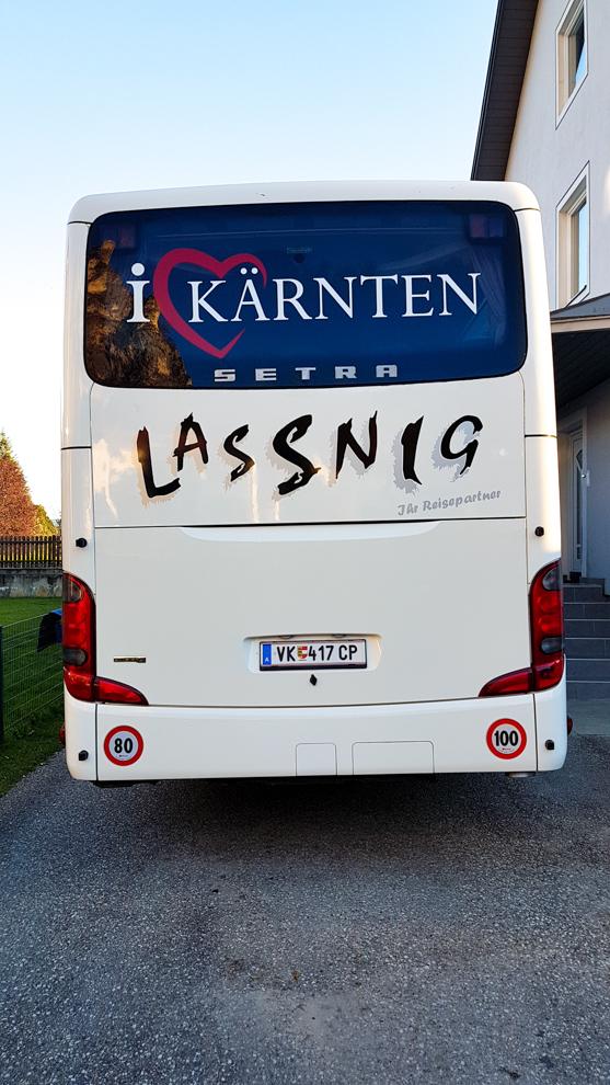 Bus für Klassenfahrten