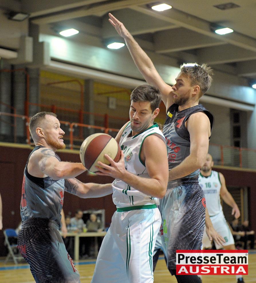 Basketball 2 Bundesliga KOS Villach DSC 1500 - Basketball Kärnten-Derby KOŠ Posojilnica Bank Celovec - Panaceo Raiders Villach