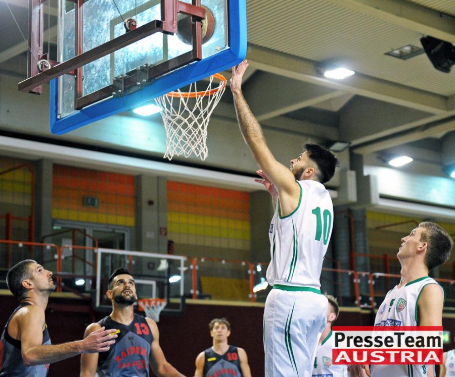 Basketball 2 Bundesliga KOS Villach DSC 1511 - Basketball Kärnten-Derby KOŠ Posojilnica Bank Celovec - Panaceo Raiders Villach