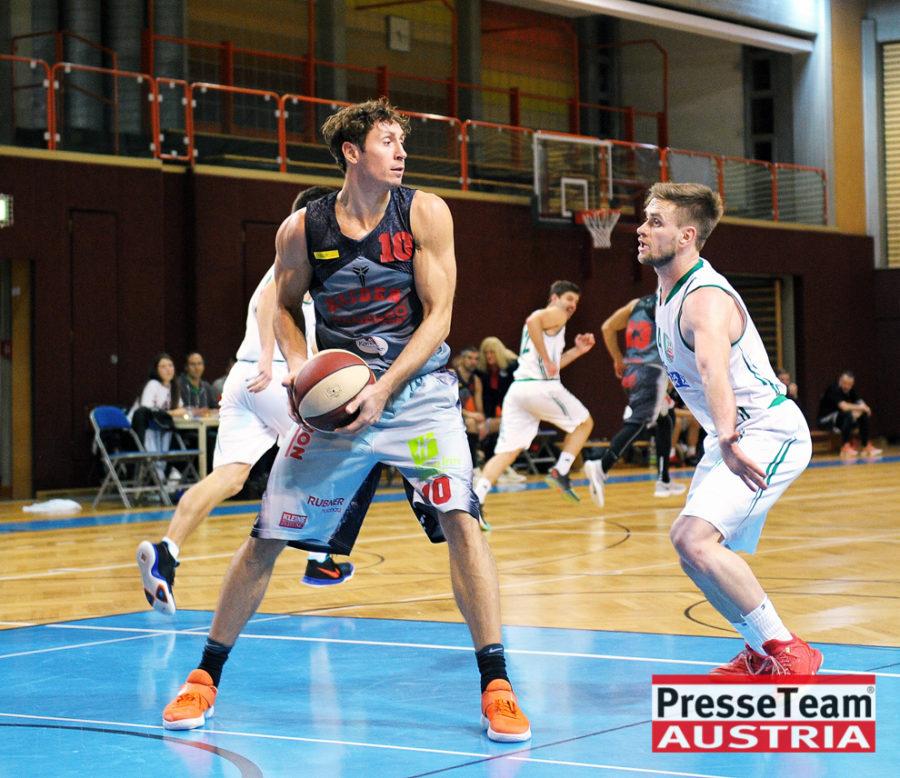 Basketball 2 Bundesliga KOS Villach DSC 1518 - Basketball Kärnten-Derby KOŠ Posojilnica Bank Celovec - Panaceo Raiders Villach