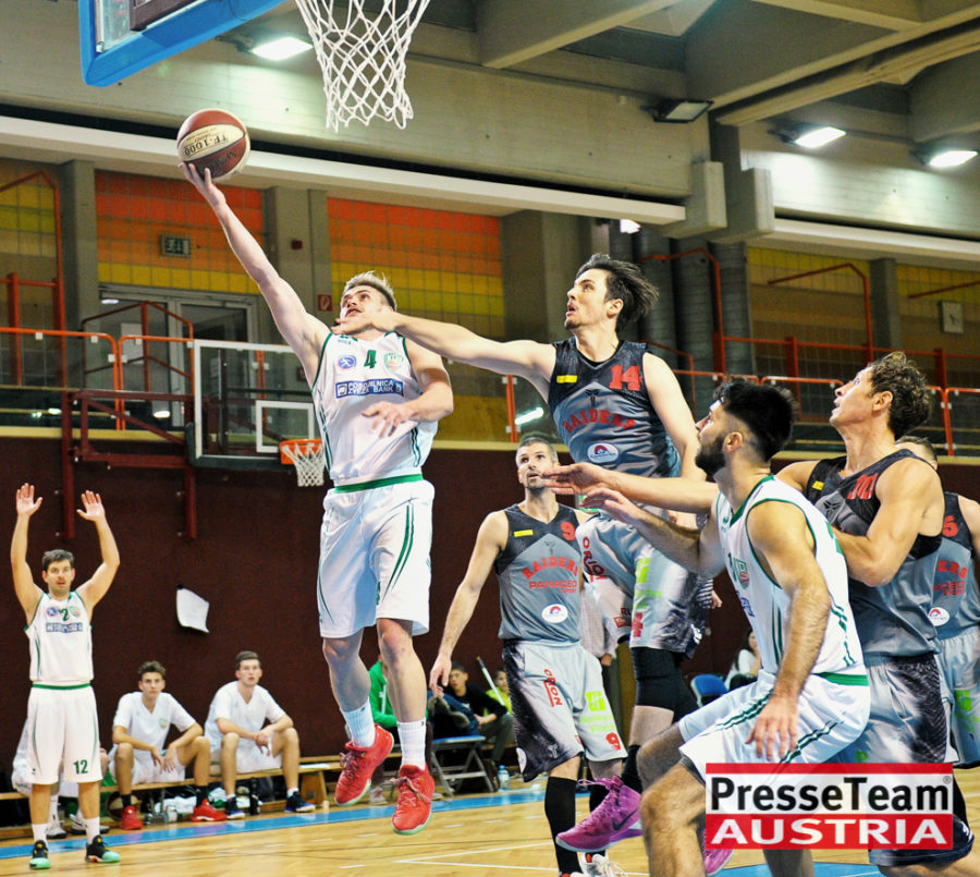 Basketball 2 Bundesliga KOS Villach DSC 1522 - Basketball Kärnten-Derby KOŠ Posojilnica Bank Celovec - Panaceo Raiders Villach