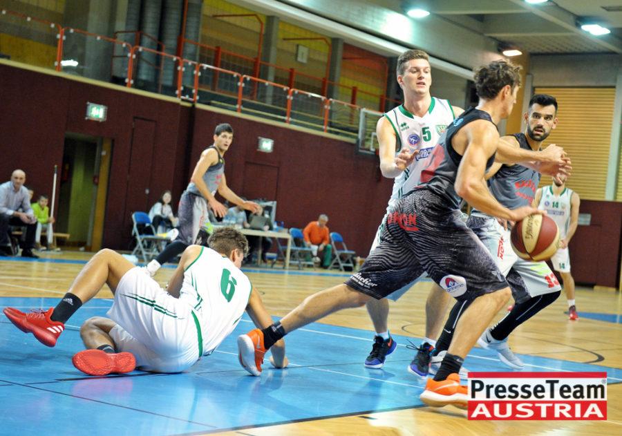 Basketball 2 Bundesliga KOS Villach DSC 1535 - Basketball Kärnten-Derby KOŠ Posojilnica Bank Celovec - Panaceo Raiders Villach