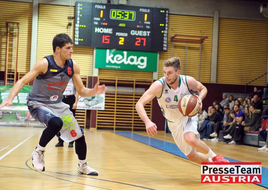 Basketball 2 Bundesliga KOS Villach DSC 1538 - Basketball Kärnten-Derby KOŠ Posojilnica Bank Celovec - Panaceo Raiders Villach