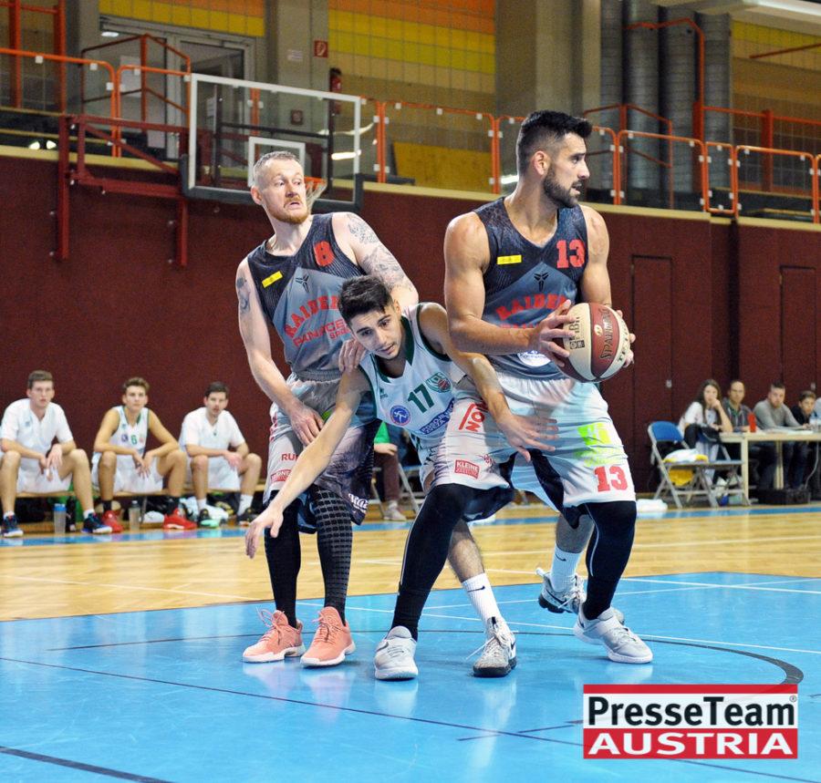 Basketball 2 Bundesliga KOS Villach DSC 1547 - Basketball Kärnten-Derby KOŠ Posojilnica Bank Celovec - Panaceo Raiders Villach