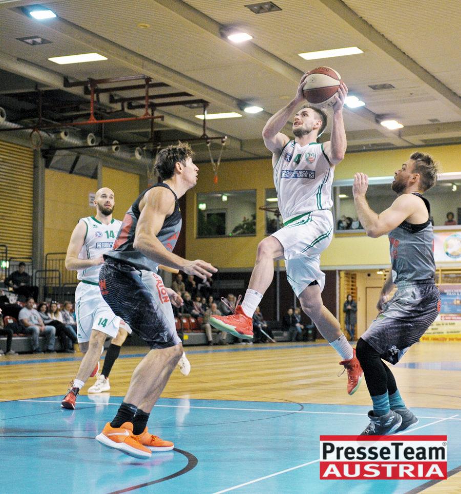 Basketball 2 Bundesliga KOS Villach DSC 1562 - Basketball Kärnten-Derby KOŠ Posojilnica Bank Celovec - Panaceo Raiders Villach
