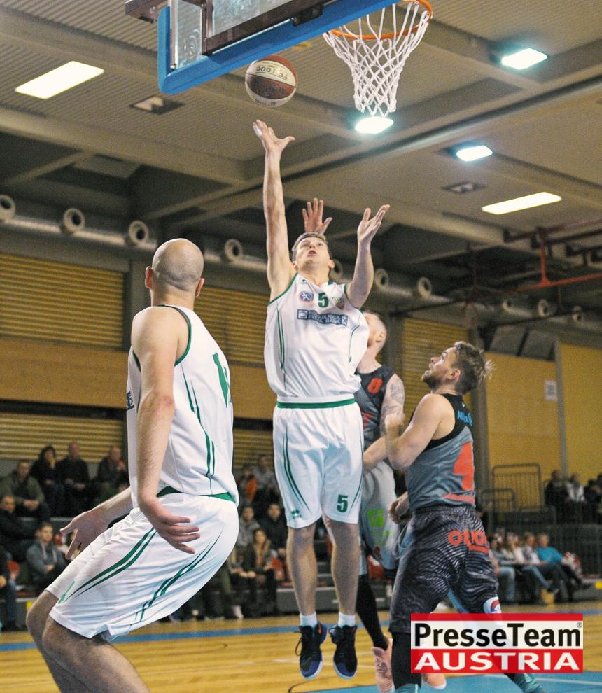 Basketball 2 Bundesliga KOS Villach DSC 1566 - Basketball Kärnten-Derby KOŠ Posojilnica Bank Celovec - Panaceo Raiders Villach