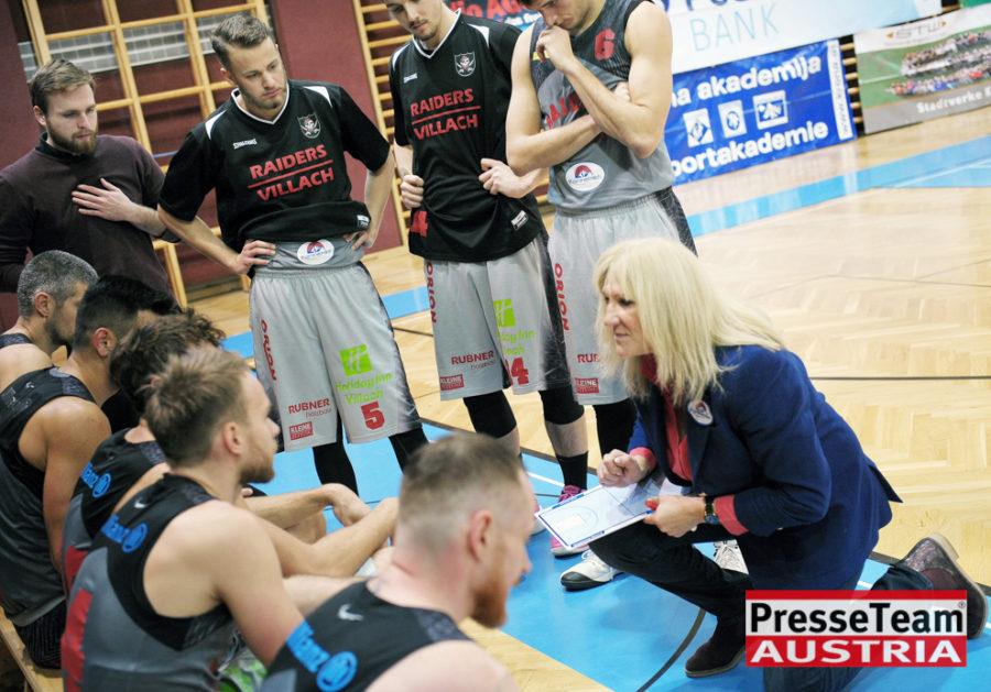 Basketball 2 Bundesliga KOS Villach DSC 1573 - Basketball Kärnten-Derby KOŠ Posojilnica Bank Celovec - Panaceo Raiders Villach