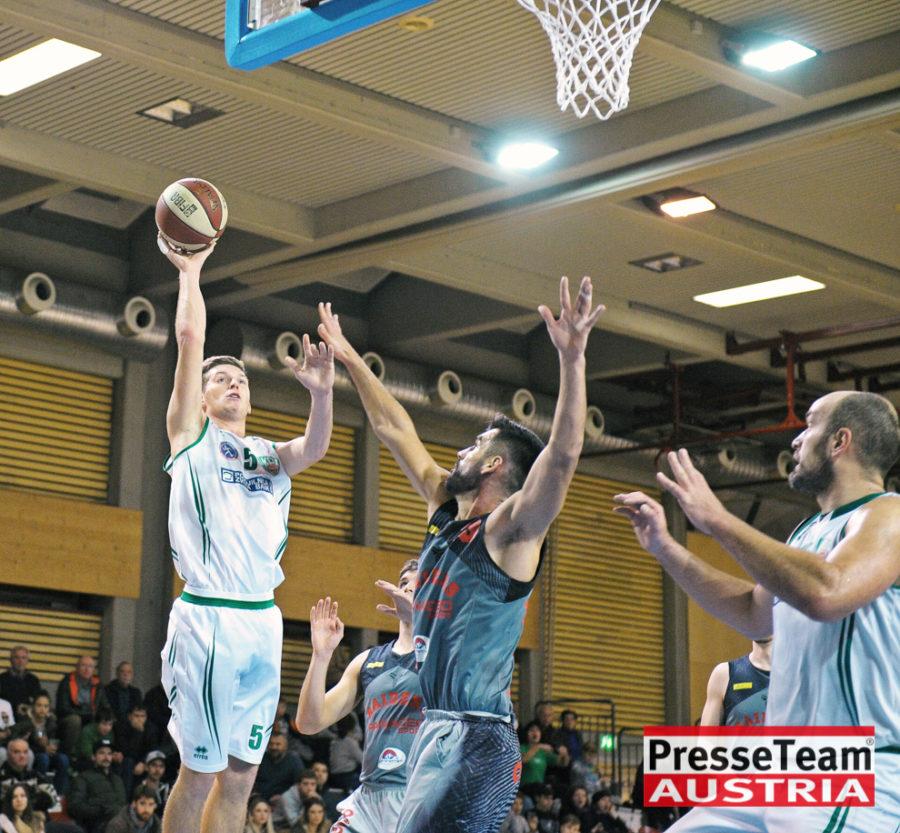 Basketball 2 Bundesliga KOS Villach DSC 1577 - Basketball Kärnten-Derby KOŠ Posojilnica Bank Celovec - Panaceo Raiders Villach