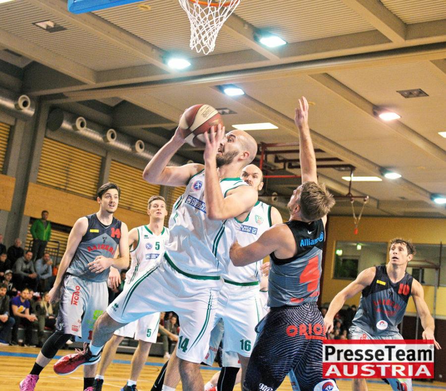 Basketball 2 Bundesliga KOS Villach DSC 1581 - Basketball Kärnten-Derby KOŠ Posojilnica Bank Celovec - Panaceo Raiders Villach