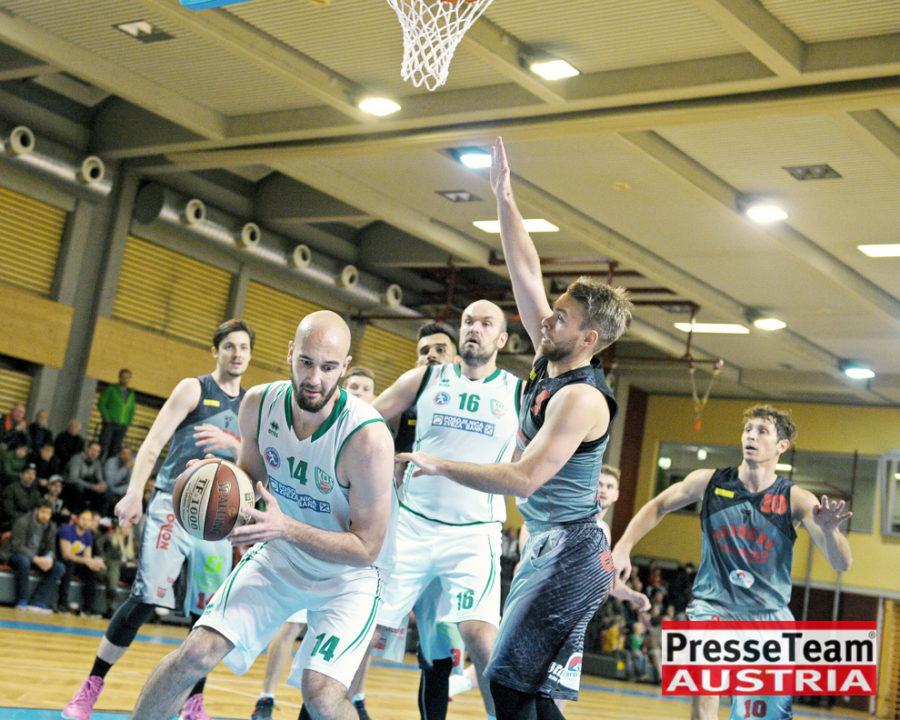 Basketball 2 Bundesliga KOS Villach DSC 1582 - Basketball Kärnten-Derby KOŠ Posojilnica Bank Celovec - Panaceo Raiders Villach