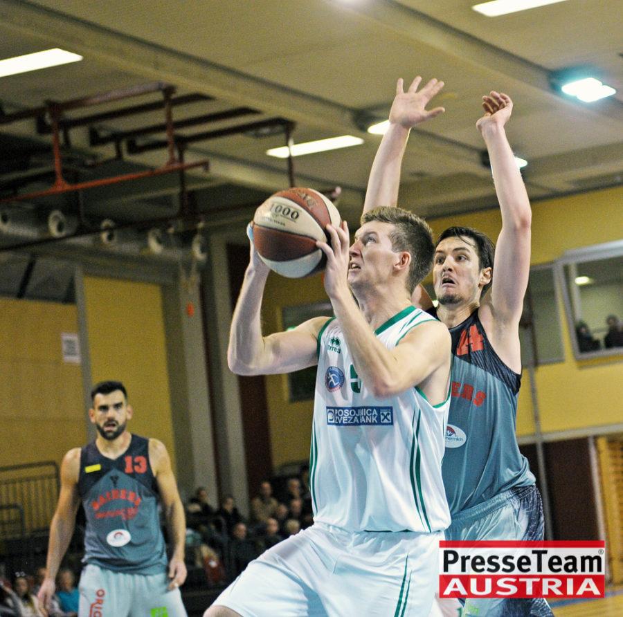Basketball 2 Bundesliga KOS Villach DSC 1603 - Basketball Kärnten-Derby KOŠ Posojilnica Bank Celovec - Panaceo Raiders Villach