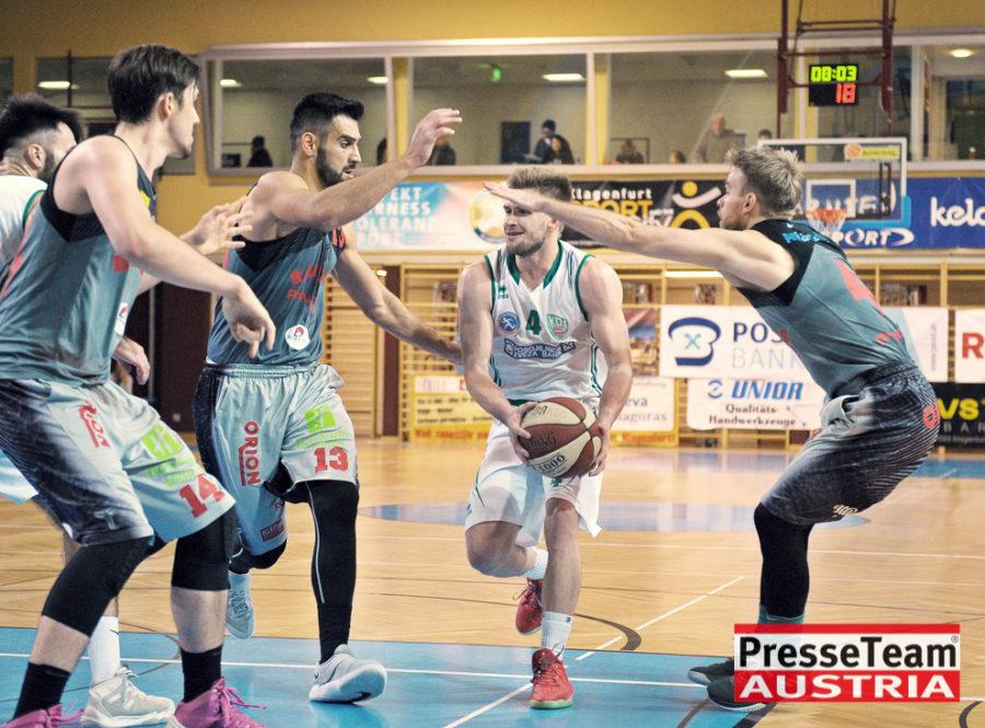 Basketball 2 Bundesliga KOS Villach DSC 1609 - Basketball Kärnten-Derby KOŠ Posojilnica Bank Celovec - Panaceo Raiders Villach