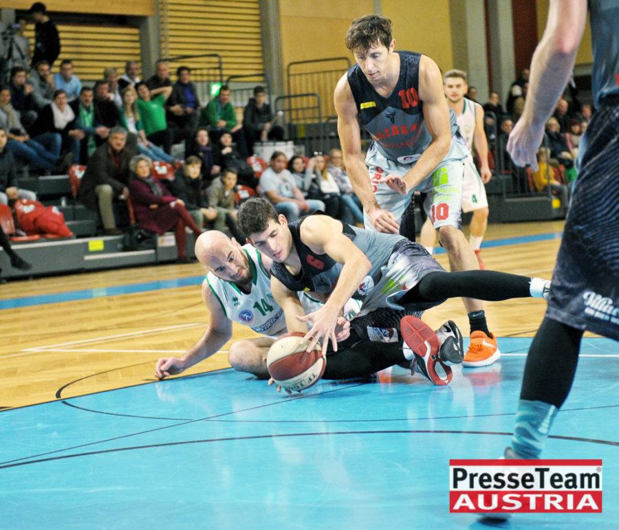 Basketball 2 Bundesliga KOS Villach DSC 1617 - Basketball Kärnten-Derby KOŠ Posojilnica Bank Celovec - Panaceo Raiders Villach