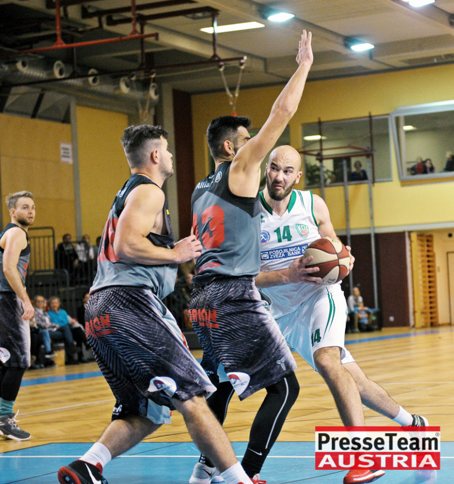 Basketball 2 Bundesliga KOS Villach DSC 1628 - Basketball Kärnten-Derby KOŠ Posojilnica Bank Celovec - Panaceo Raiders Villach