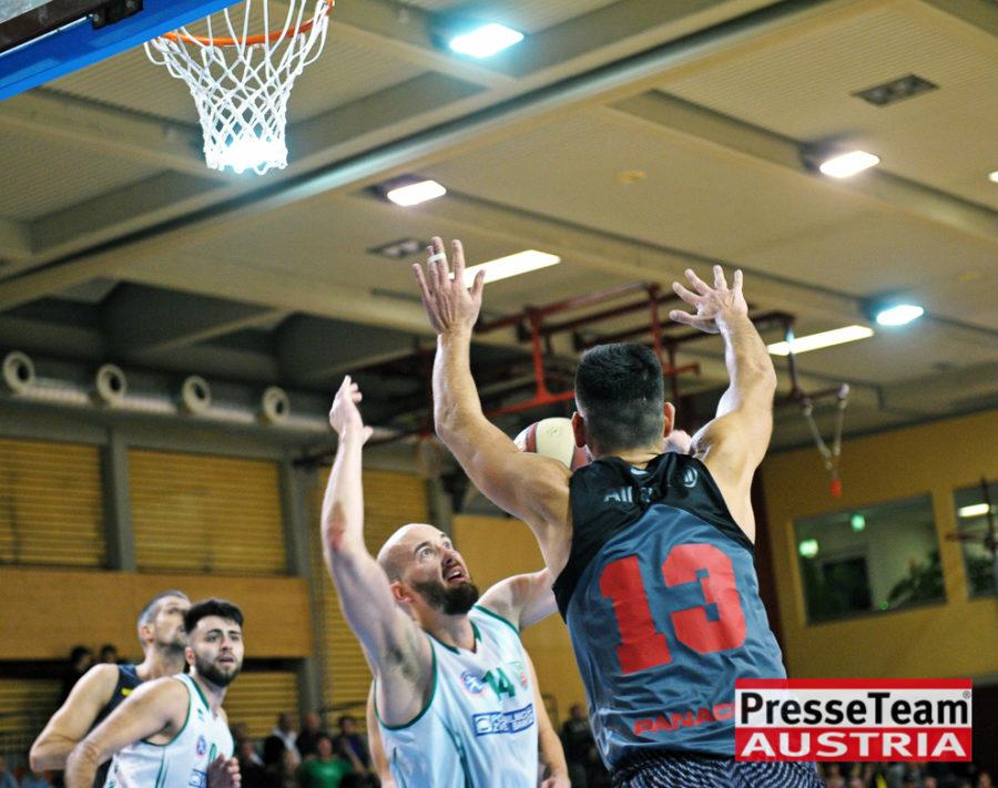 Basketball 2 Bundesliga KOS Villach DSC 1631 - Basketball Kärnten-Derby KOŠ Posojilnica Bank Celovec - Panaceo Raiders Villach