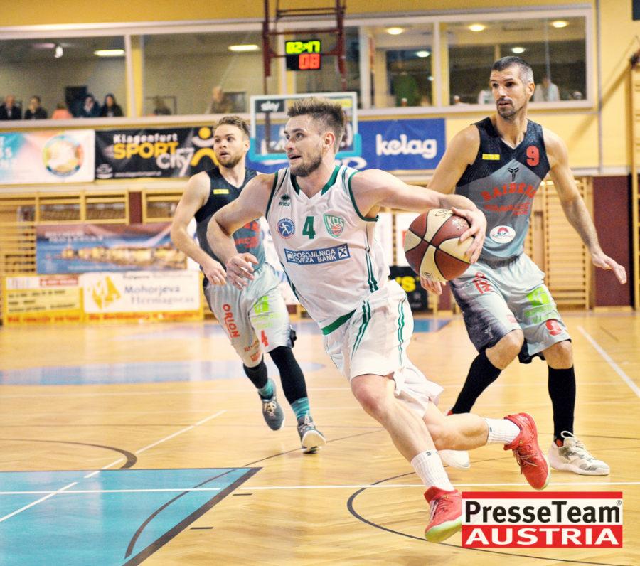 Basketball 2 Bundesliga KOS Villach DSC 1636 - Basketball Kärnten-Derby KOŠ Posojilnica Bank Celovec - Panaceo Raiders Villach