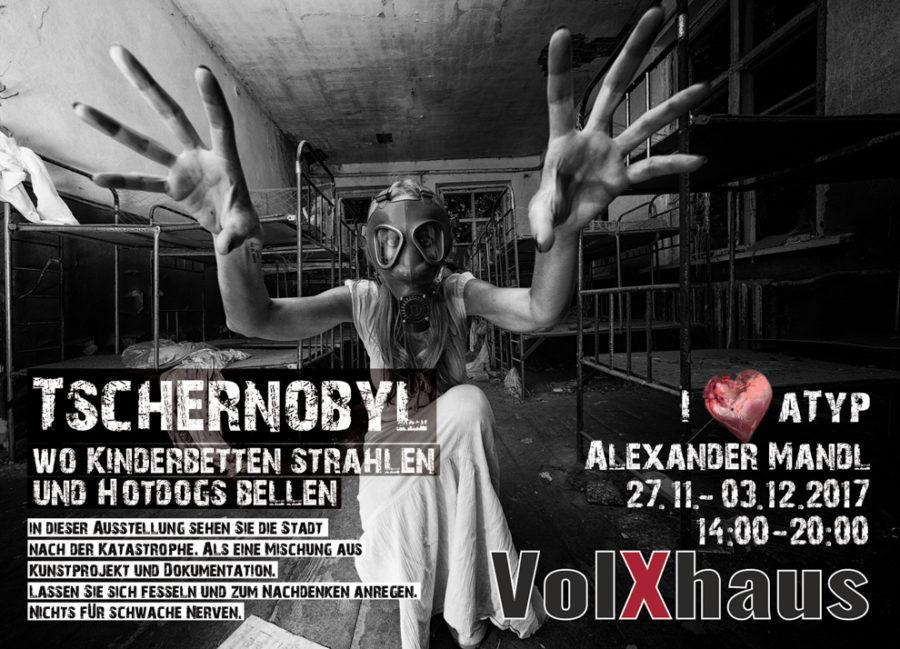 Postkarte Mandl Alexander Tschernobyl - TERMIN: Bilder zum Thema Tschernobyl, Im VolXhaus in Klagenfurt