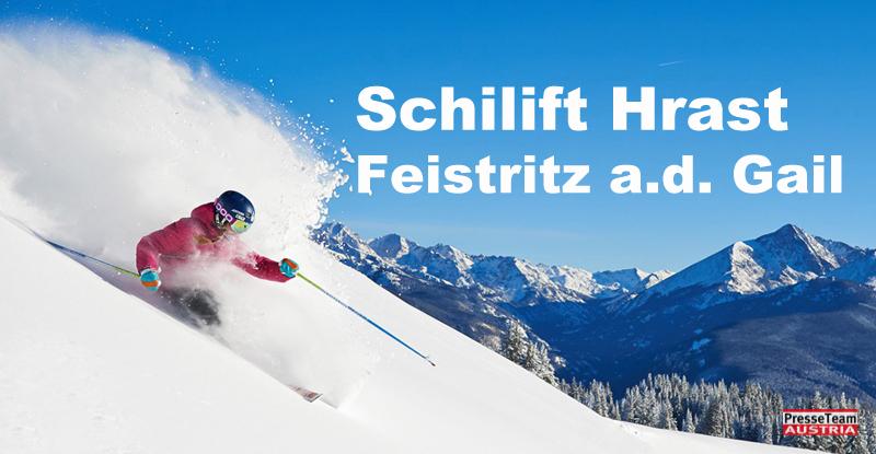 Schilift Hrast / Feistritz a.d. Gail Kärnten Preise Urlaub bei Freunden