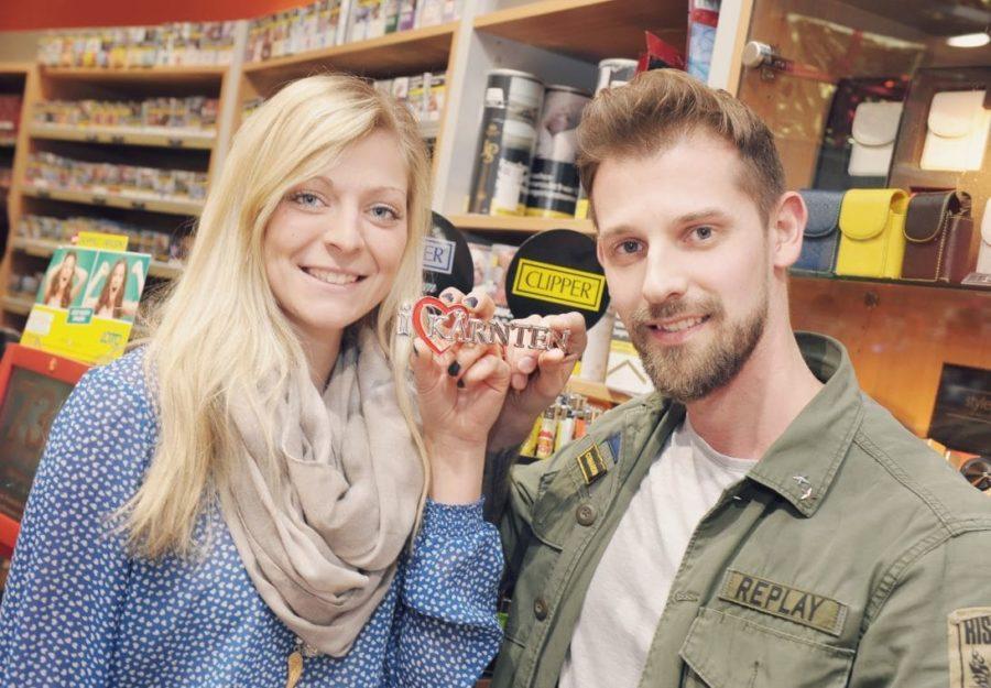 Lisa Pichler und Yannik Zwolensky Trafik - LED Förderung Österreich Shopbeleuchtung