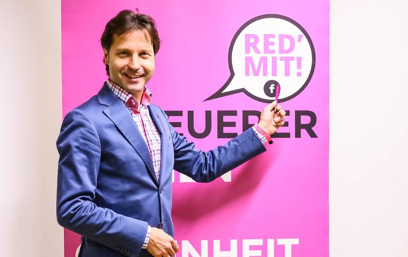 NEOS Kärnten Kandidat Markus Unterdorfer-Morgenstern