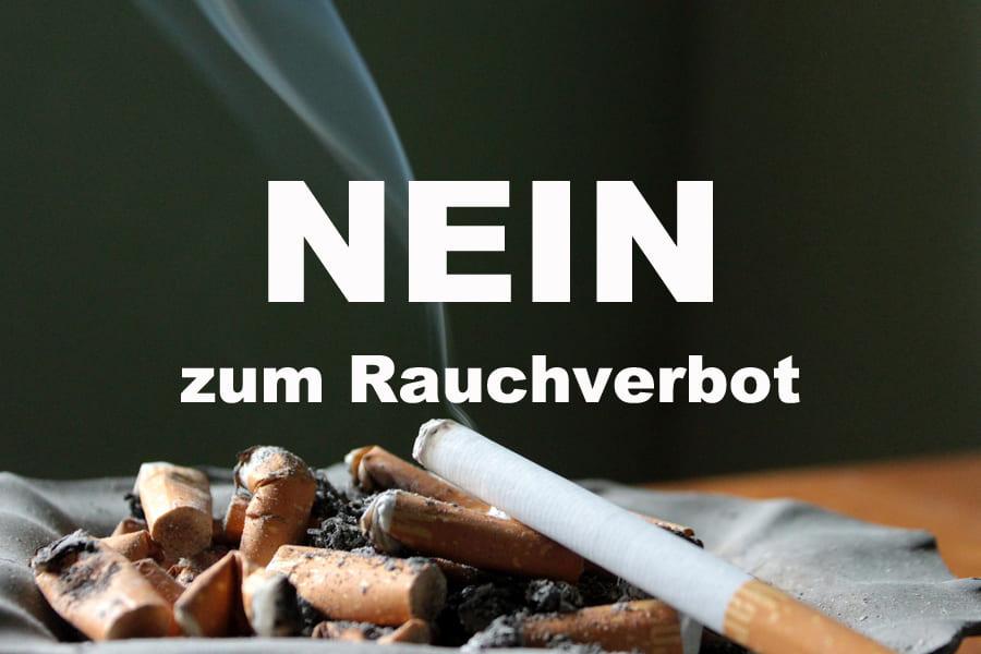 NEIN zum Rauchverbot in Österreich