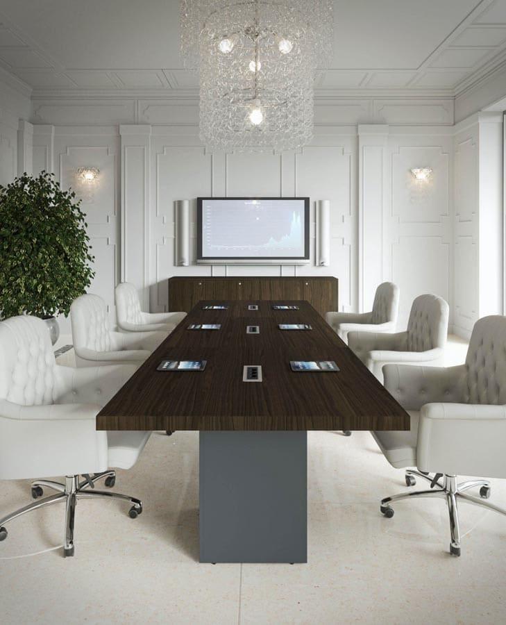 Austria Bueromoebel Klassisch NEWFORM UFFICIO 4 President - Designer Büromöbel Einrichtung Ideen